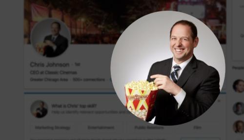 Chris Johnson CEO Classic Cinemas Ogden 6 Theatre Naperville Matt Dubiel WCKG